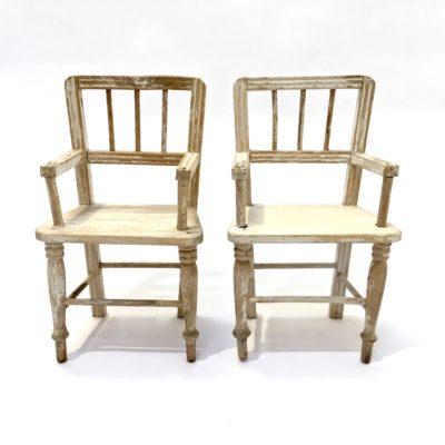Lot meubles poupée -chaise-fauteuil_maison_Liedekerke_maison-LK_MLK3