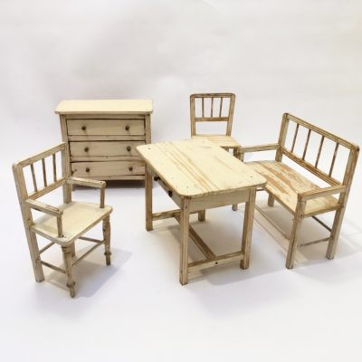 Lot meubles poupée -ensemble_maison_Liedekerke_maison-LK_MLK1