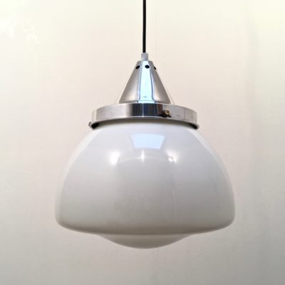 suspension_opaline_art déco_aluminium_maison_liedekerke_LK