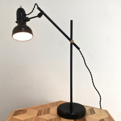 Lampe lumina 70's allumée _maison_liedekerke_maison-lk