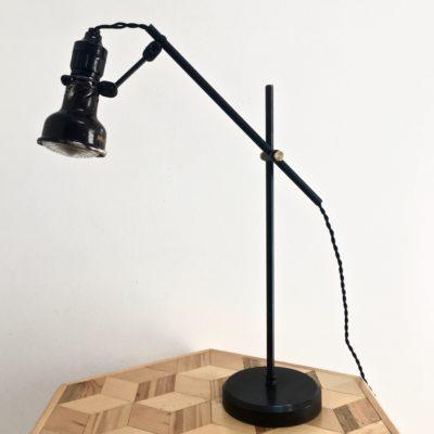 Lampe lumina Fresnel 40's éteinte _maison_liedekerke_maison-lk