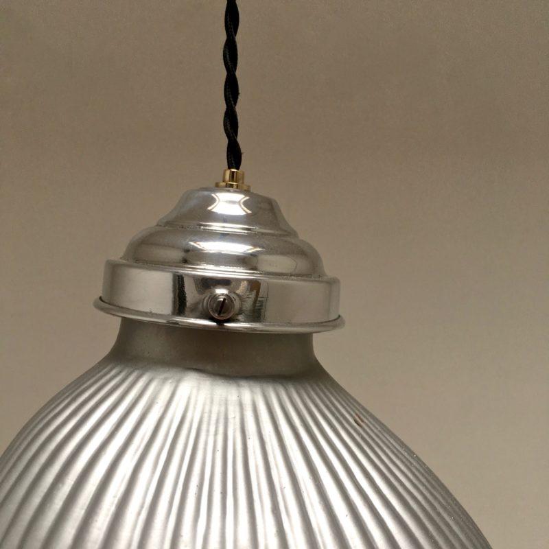 suspension verre églomisé - détail rosace _Maison_Liedekerke_maison-lk