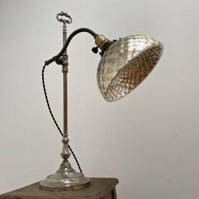 lampe bureau églomisé art déco maison Liedekerke