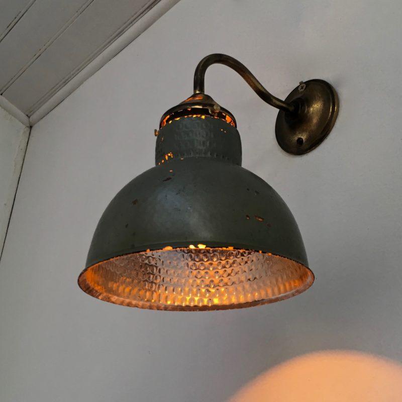 Paire d'appliques verre mercurisé -ASTAX- vue côté allumée_Maison_Liedekerke_maison-lk