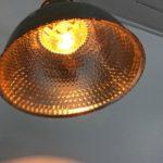 Paire d'appliques verre mercurisé -ASTAX- vue dessous allumée_Maison_Liedekerke_maison-lk