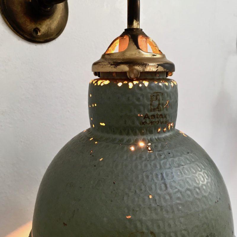 Paire d'appliques verre mercurisé -ASTAX- zoom acroche allumée_Maison_Liedekerke_maison-lk