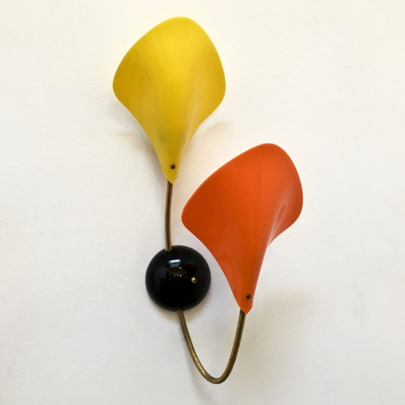 Applique POP orange&jaune éteinte_Maison_Liedekerke_maison-lk