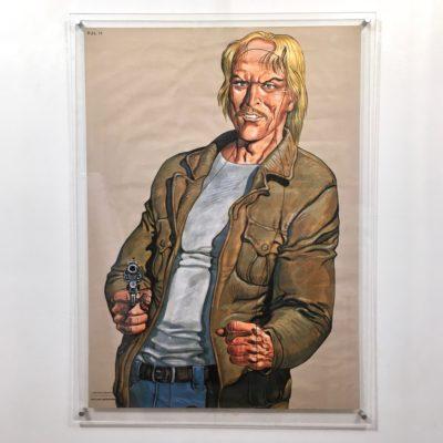Affiche PJ homme blond_vue générale_Maison_Liedekerke_maison-lk