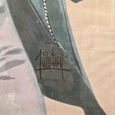 Affiche PJ homme bonnet_zoom signature_Maison_Liedekerke_maison-lk