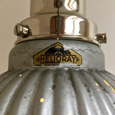 Applique COL de CYGNE_HELIORAY_verre mercurisé_circa 1930