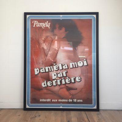 Affiche_Paméla moi par derrière_Maison Liedekerke_maison-lk.com